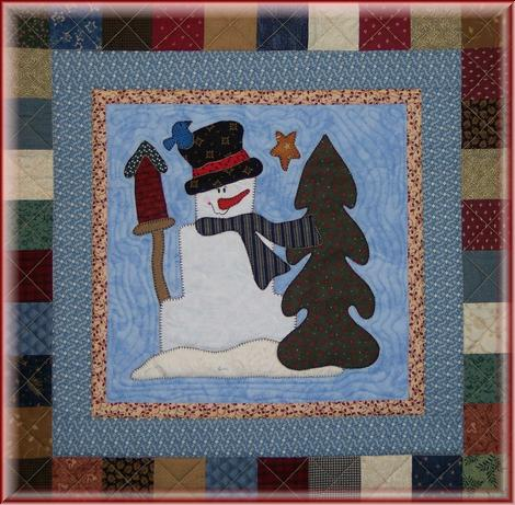 Snowman Collector Bom Stonewall Pattern Only Blk 11